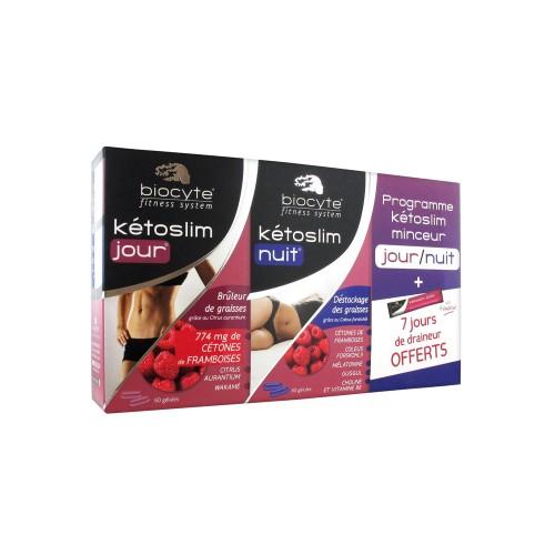 Программа для похудения Биоцит День-Ночь Biocyte Kétoslim Slimming Program Day Night + 7 стиков