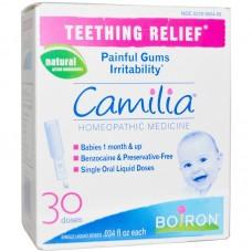 Гомеопатическое средство для облегчения прорезывания зубов Camilia 30 монодоз, Boiron