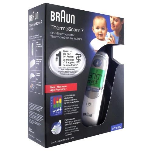 Ушной инфракрасный термометр Браун Braun Thermoscan 7 IRT 6520